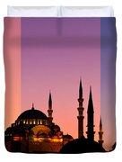 Suleymaniye Sundown Triptych 05 Duvet Cover