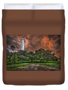 Sulfur Springs Tower Duvet Cover
