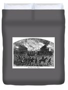 Sullivans March, 1779 Duvet Cover