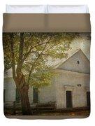 Sulphur Springs Methodist Church Duvet Cover