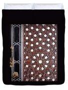 Sultan Ahmet Mausoleum Door 01 Duvet Cover
