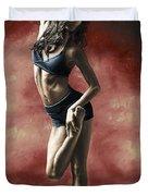 Sultry Dancer Duvet Cover