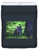 Sumatran Tiger Cub Duvet Cover
