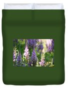 Summer Astilbe Duvet Cover