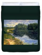 Summer At Jackson Lake Duvet Cover