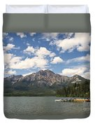 Summer At Pyramid Lake Duvet Cover