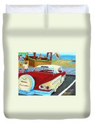 Cruising The Beach Duvet Cover