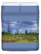 Summer At The Bog... Duvet Cover