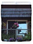 Summer Balcony Duvet Cover