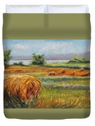Summer Bales Duvet Cover