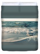 Summer Beach Duvet Cover