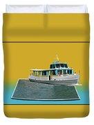 Summer Boat Ride 02 Walt Disney World Duvet Cover