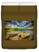 Summer Boating Duvet Cover