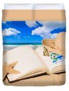 Summer Book Duvet Cover