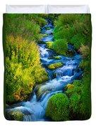 Summer Cascade Duvet Cover