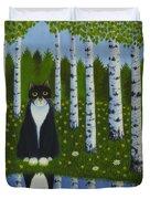 Summer Cat Duvet Cover