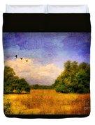 Summer Country Landscape Duvet Cover