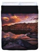 Summer Dells Sunset Duvet Cover