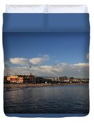 Summer Evenings In Santa Cruz Duvet Cover by Laurie Search