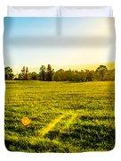 Summer Fields Duvet Cover by Parker Cunningham