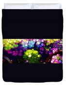 Summer Flowers In The Country Duvet Cover
