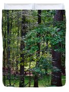 Summer Forest Duvet Cover