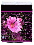 Summer Greetings Duvet Cover