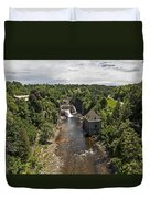 Summer In Asuable Chasm Duvet Cover