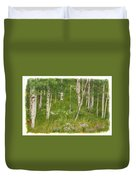 Summer In The Colorado Mountains Duvet Cover