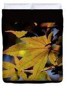 Summer Japanese Maple - 1 Duvet Cover