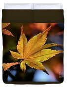 Summer Japanese Maple - 2 Duvet Cover