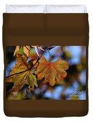 Summer Japanese Maple - 4 Duvet Cover