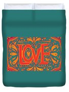 Summer Love  Duvet Cover