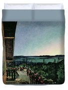 Summer Night Duvet Cover by Harald Oscar Sohlberg