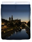 Urban Summer Night.. Duvet Cover