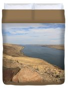Summer On The Columbia River Duvet Cover