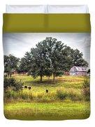 Summer On The Farm Duvet Cover