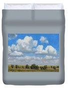 Summer Pasture Duvet Cover