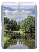Summer Pond Duvet Cover