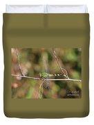 Summer Pondhawk Dragonfly Duvet Cover
