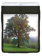 Summer Poplar Tree Filtered Duvet Cover
