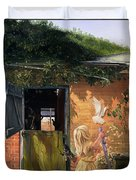 Summer Reflection Duvet Cover by Timothy  Easton