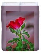 Summer Rose Duvet Cover