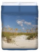 Summer Sea Oats Duvet Cover