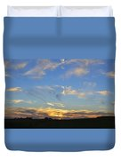 Summer Sets Panorama Duvet Cover