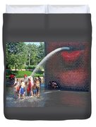 Summer Shower Duvet Cover