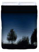 Summer Silhouette Duvet Cover