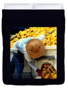 Summer Squash Duvet Cover