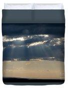 Summer Storm Clouds Duvet Cover