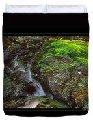 Summer Stream Waterfall Duvet Cover